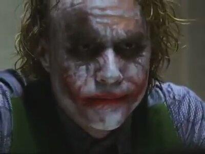 Joker - Batman The Dark Knight Sorgu Sahnesi